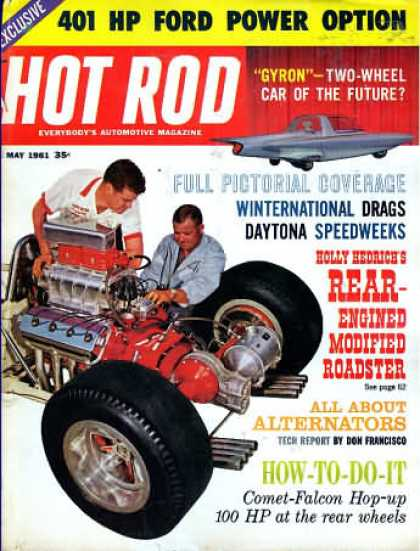 Hot Rod - May 1961