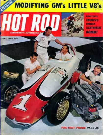 Hot Rod - June 1961
