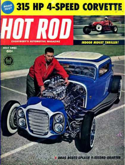 Hot Rod - July 1961