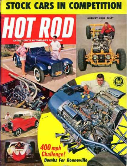Hot Rod - August 1961