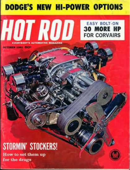 Hot Rod - October 1961