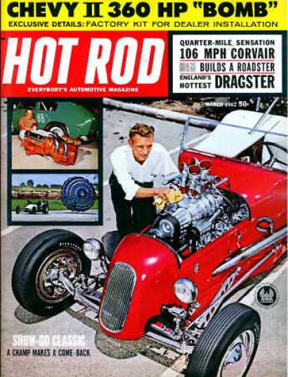 Hot Rod - March 1962