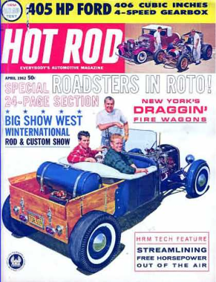 Hot Rod - April 1962