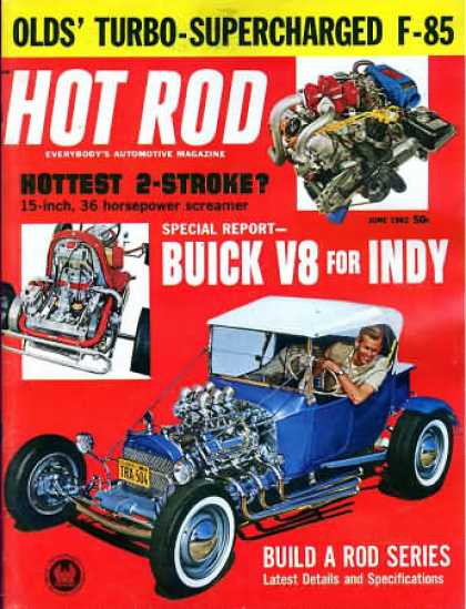 Hot Rod - June 1962