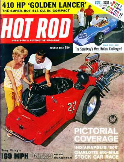 Hot Rod - August 1962