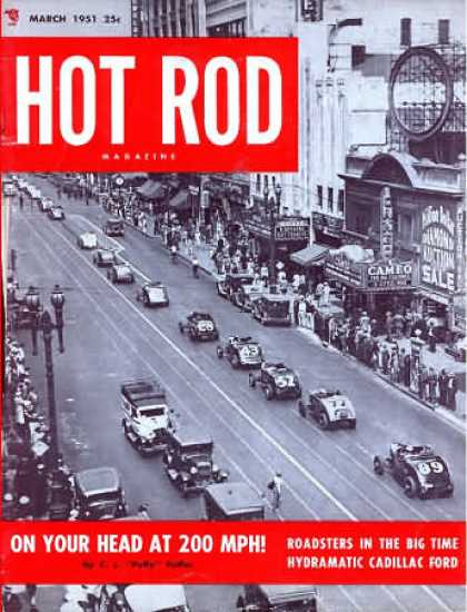 Hot Rod - March 1951