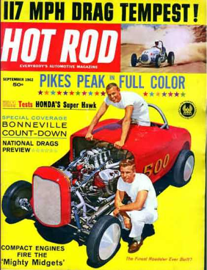 Hot Rod - September 1962