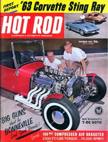 Hot Rod - October 1962