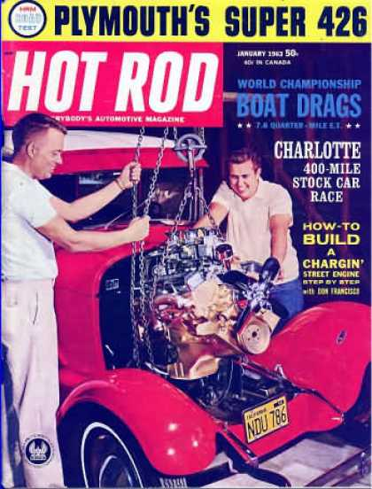 Hot Rod - January 1963