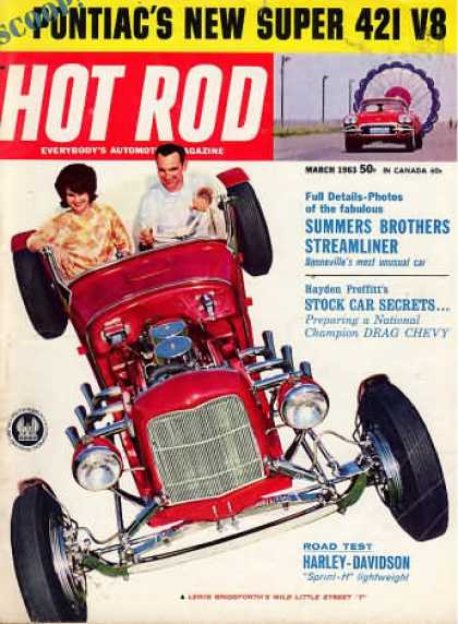 Hot Rod - March 1963