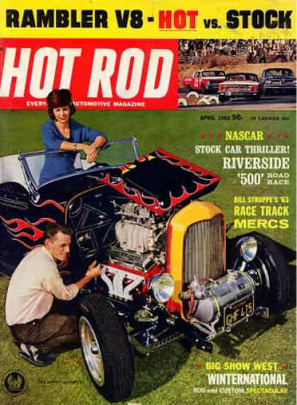 Hot Rod - April 1963
