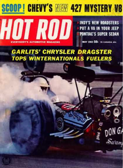 Hot Rod - May 1963