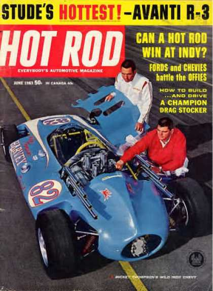 Hot Rod - June 1963