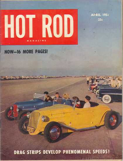 Hot Rod - April 1951