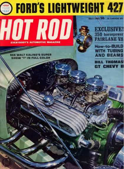 Hot Rod - July 1963