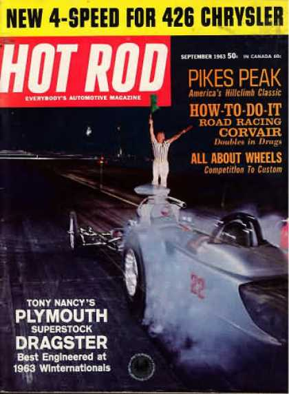 Hot Rod - September 1963