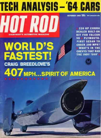 Hot Rod - October 1963