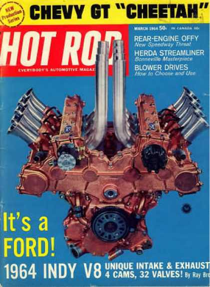 Hot Rod - March 1964