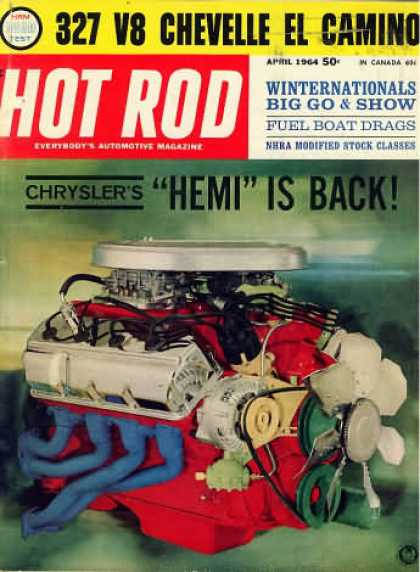 Hot Rod - April 1964
