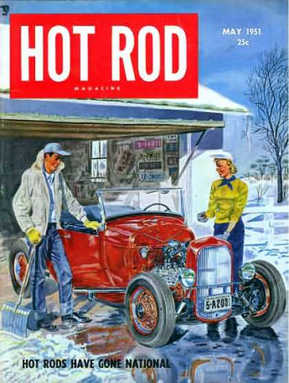 Hot Rod - May 1951