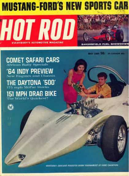 Hot Rod - May 1964