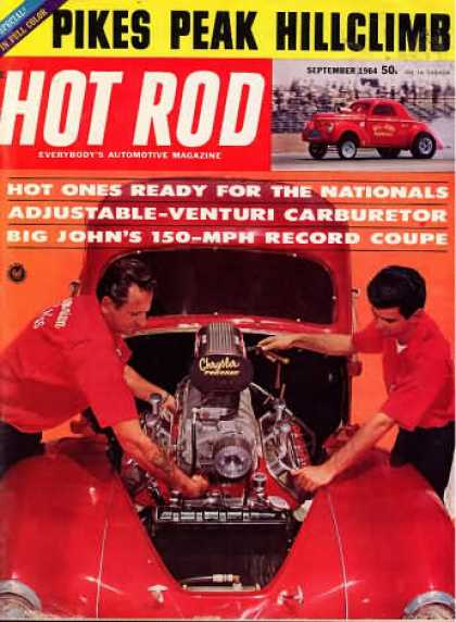 Hot Rod - September 1964
