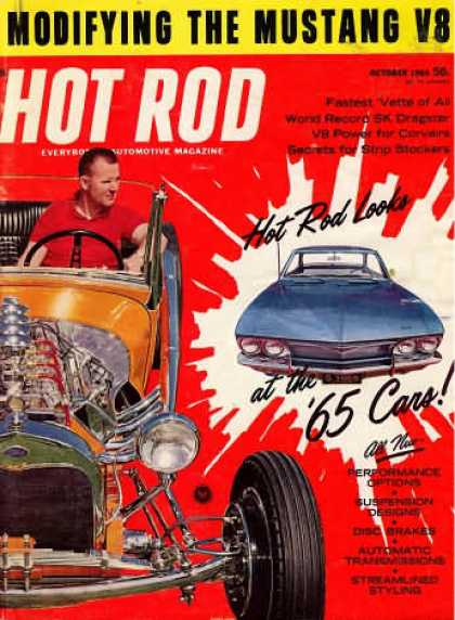 Hot Rod - October 1964