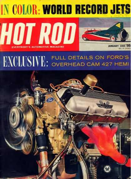 Hot Rod - January 1965
