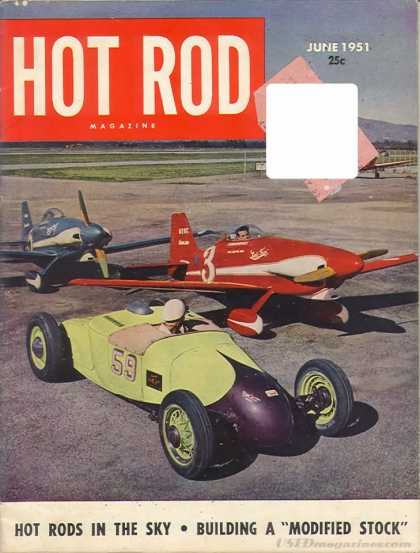 Hot Rod - June 1951