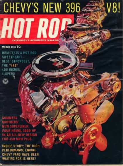 Hot Rod - March 1965