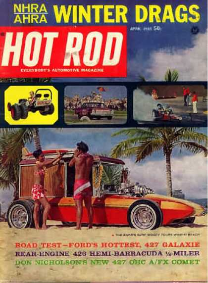 Hot Rod - April 1965
