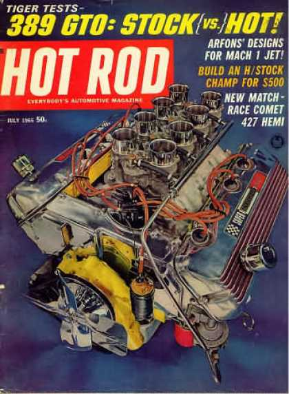 Hot Rod - July 1965