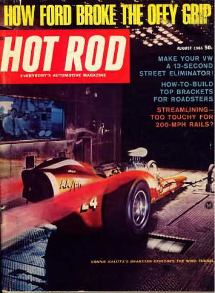 Hot Rod - August 1965