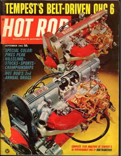 Hot Rod - September 1965