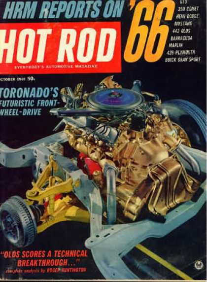 Hot Rod - October 1965