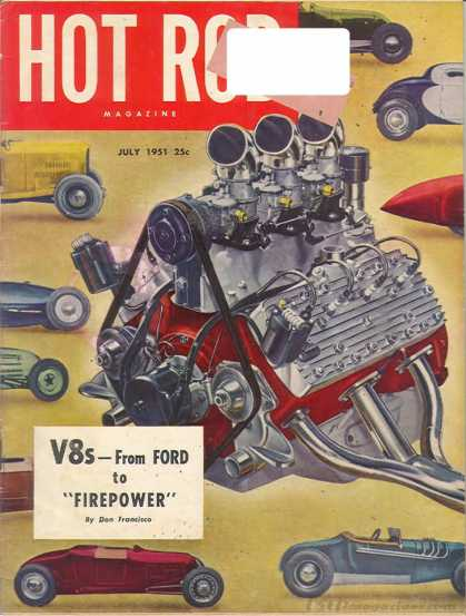 Hot Rod - July 1951