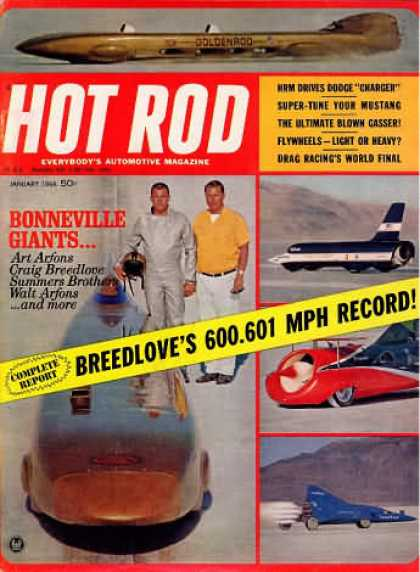 Hot Rod - January 1966