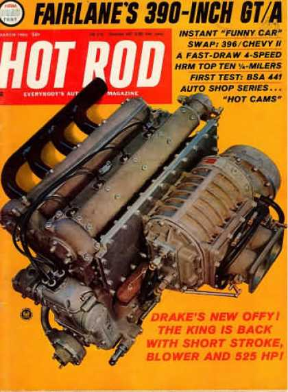 Hot Rod - March 1966