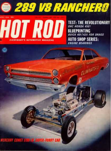 Hot Rod - April 1966