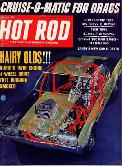 Hot Rod - May 1966