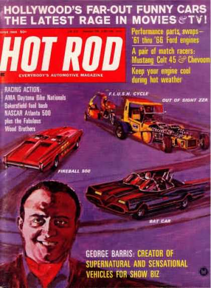 Hot Rod - June 1966