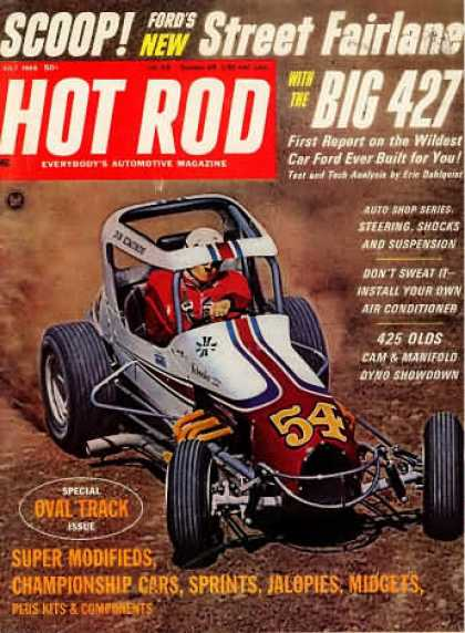 Hot Rod - July 1966
