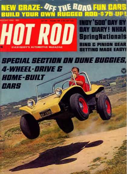 Hot Rod - August 1966
