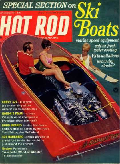Hot Rod - September 1966