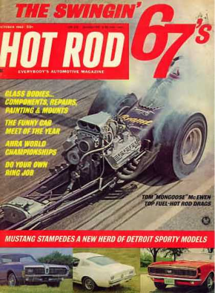Hot Rod - October 1966