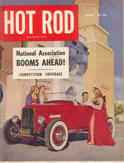 Hot Rod - August 1951