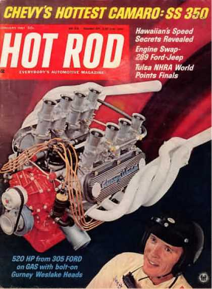 Hot Rod - January 1967