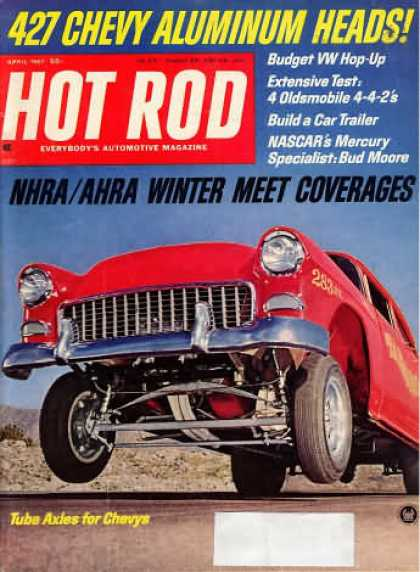 Hot Rod - April 1967