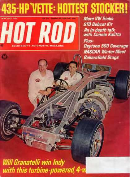 Hot Rod - May 1967