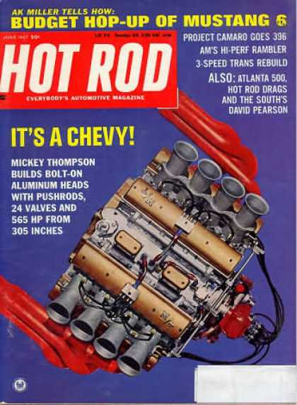 Hot Rod - June 1967